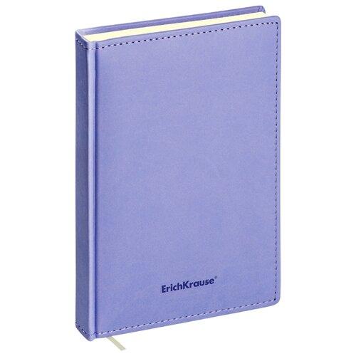 Купить Ежедневник ErichKrause Vivella недатированный, искусственная кожа, А5, 168 листов, фиолетовый, Ежедневники, записные книжки