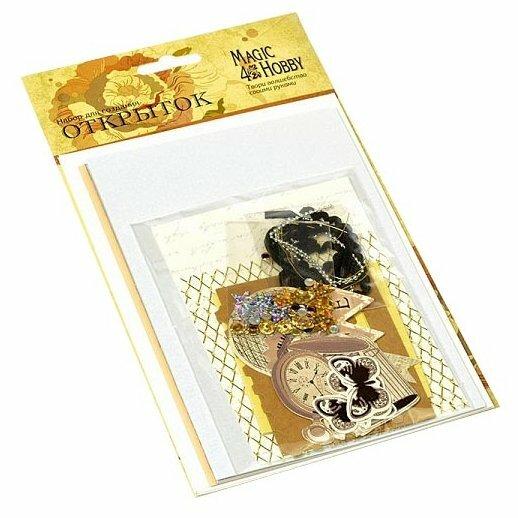 Набор для создания открыток Magic4Hobby 11,5x17 см, 3 шт, MG.DIY-3A №4