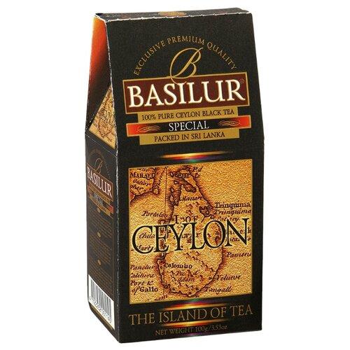 Чай черный Basilur The island of tea Ceylon Special , 100 г basilur tea book v черный листовой чай 100 г жестяная банка