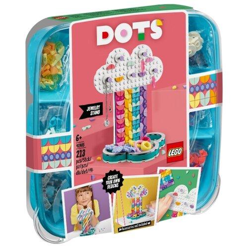 Конструктор LEGO DOTS 41905 Подставка для украшений Радуга lego dots 41900 лего дотс браслет радуга