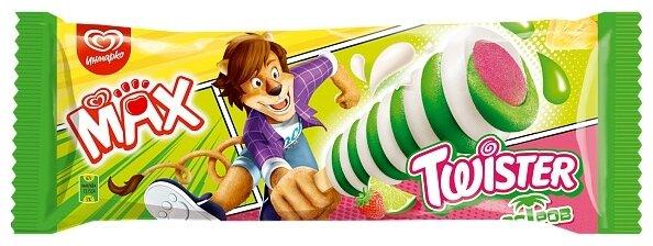Мороженое Max Twister Остров клубника-ананас 67 г