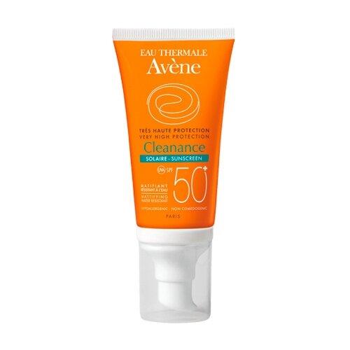 AVENE эмульсия Cleanance Solar Oli Free для проблемной кожи, SPF 50, 50 мл avene cleanance маска купить