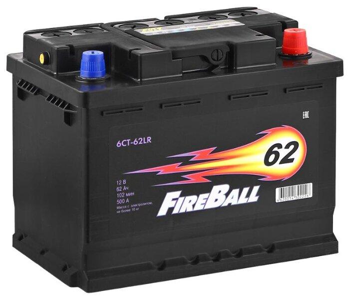 Аккумулятор FireBall 6СТ-62LR