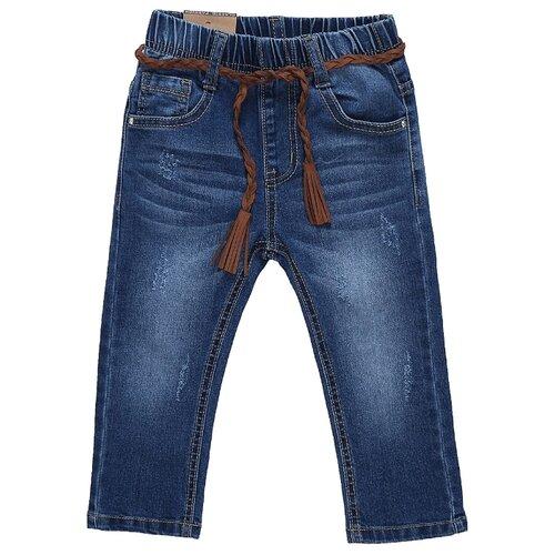 Купить Джинсы Sweet Berry размер 86, синий, Брюки и шорты