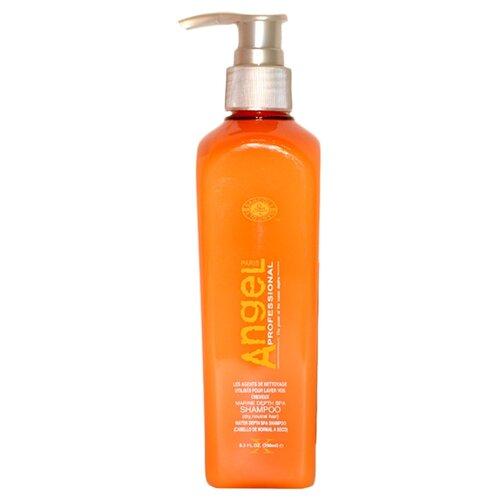 Купить Angel Professional шампунь Marine Depth Spa для сухих и нейтральных волос 250 мл с дозатором