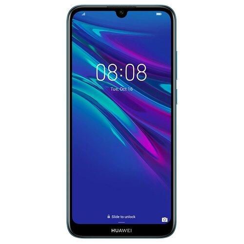 Смартфон HUAWEI Y6 (2019) сапфировый синийМобильные телефоны<br>