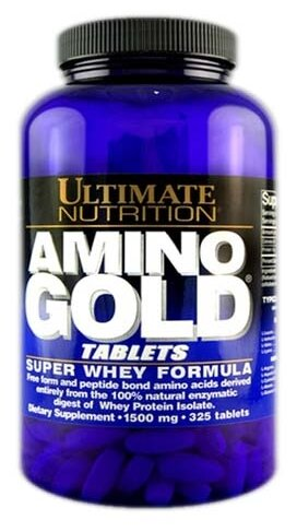 Amino Gold 1500 mg Tablets (325 таб), Ultimate Nutrition