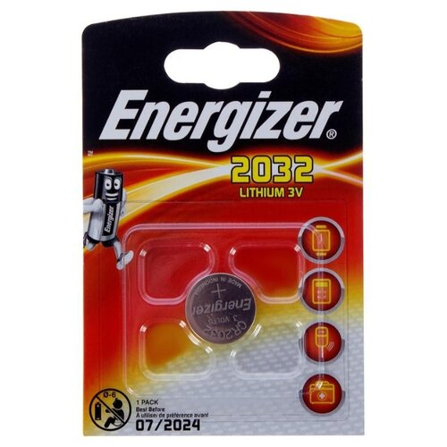 Фото - Батарейка Energizer CR2032, 1 шт. батарейка sonnen cr2032 1 шт блистер