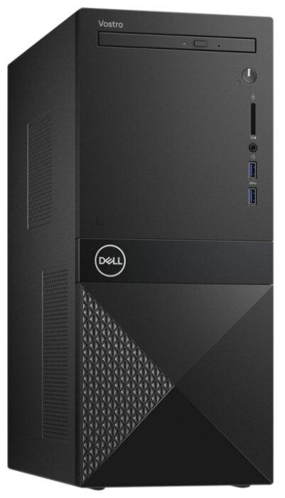 Настольный компьютер DELL Vostro 3670 (3670-3117) Mini-Tower/Intel Core i3-8100/4 ГБ/1 ТБ HDD/Intel