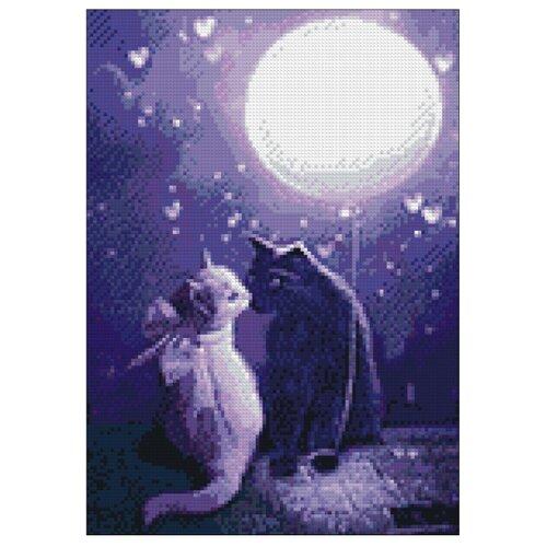 Фото - Гранни Набор алмазной вышивки Мартовские коты (Ag 458) 27х38 см мартовские коты