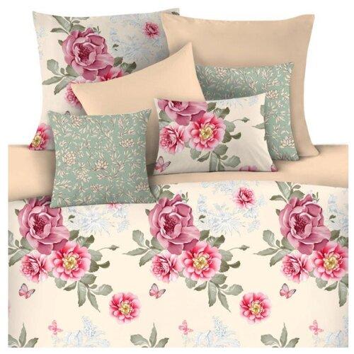цена Постельное белье 2-спальное Mona Liza Taity 50 х 70 см сатин розовые цветы онлайн в 2017 году