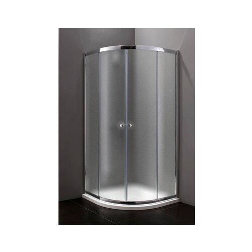 Душевой уголок CEZARES Anima R 2 100x100 100см*100см хром/стекло рифленое рифленое
