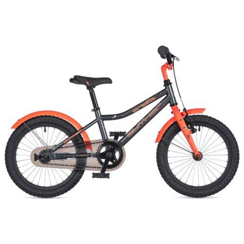 Детский велосипед Author Orbit 16 (2020) grey-matt/orange-neon 9 (требует финальной сборки) дорожный велосипед author