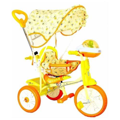 Трехколесный велосипед JAGUAR MS-0747, оранжевый