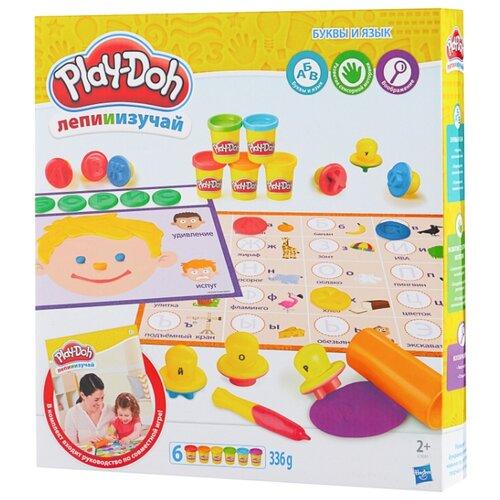 Масса для лепки Play-Doh Буквы и язык (C3581)Пластилин и масса для лепки<br>
