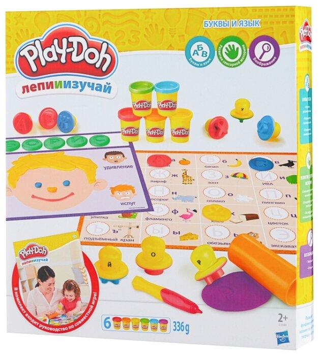Масса для лепки Play-Doh Буквы и язык (C3581)