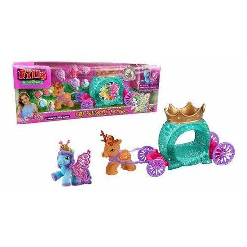 Купить Фигурки Filly Butterfly Glitter Волшебная карета M770143-3850, Игровые наборы и фигурки