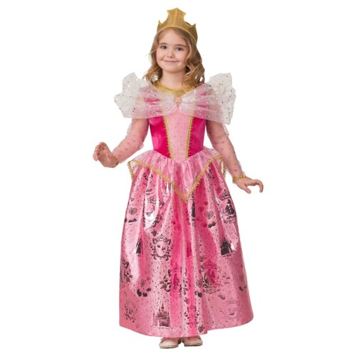 Купить Костюм Батик Принцесса Аврора (1925), розовый, размер 110, Карнавальные костюмы