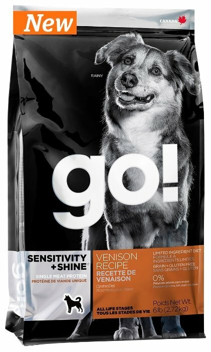 Корм для собак GO! Sensitivity + Shine Limited Ingredient Diet оленина 2.72 кг