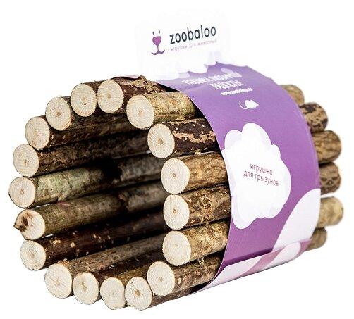 Игрушка для грызунов Zoobaloo Тоннель из орешника малый 10х7см