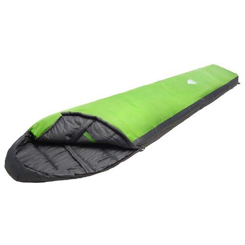 Спальный мешок TREK PLANET Gotland серый/зеленый с правой стороны