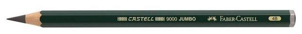 Faber-Castell Карандаш чернографитовый Castell 9000 Jumbo 4B