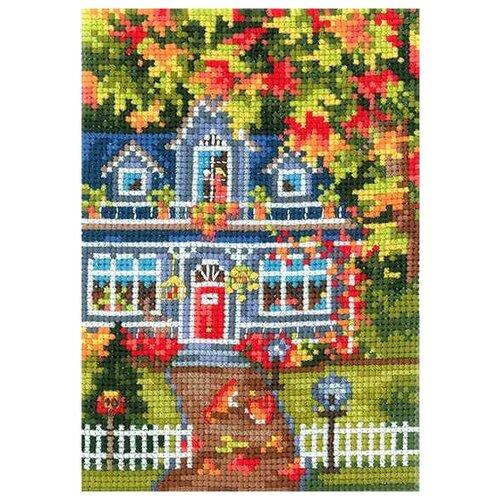 Сделай своими руками Набор для вышивания Времена года. Осень 10 x 15 см (В-23)