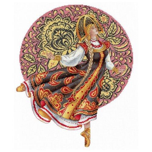Купить М.П.Студия Набор для вышивания Русские традиции. Хохлома 25 x 32 см (нв-664), Наборы для вышивания
