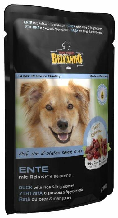 Корм для собак Belcando Утка с рисом и брусникой (0.125 кг) 1 шт.