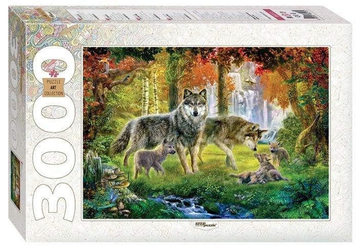 Пазл Step puzzle Art Collection Волки (85013), 3000 дет.
