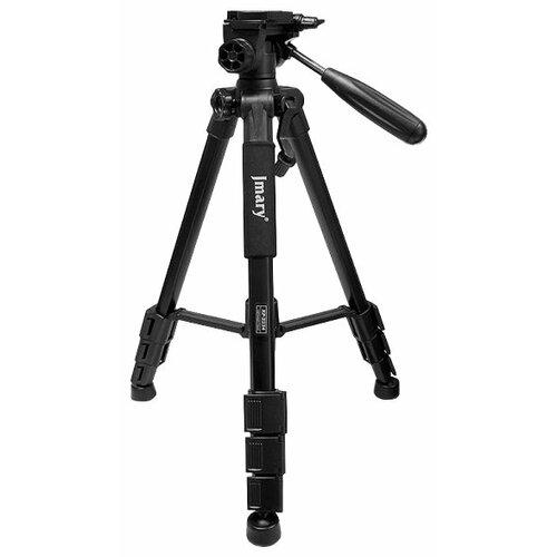 Фото - Штатив Jmary KP-2234 черный штатив для фото видеокамер напольный 800 2100мм jmary mt 75 черный