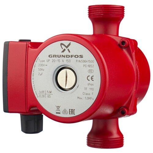 Циркуляционный насос Grundfos UP 20-15 N (1х230V) (65 Вт)
