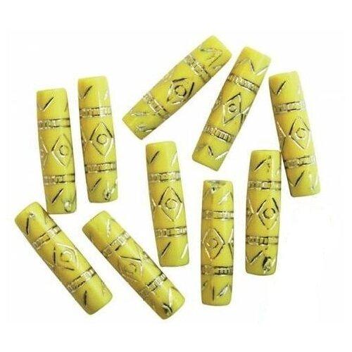 Купить Бусины, цвет: 9, 25x7 мм, арт. BV-2288, Astra & Craft, Фурнитура для украшений