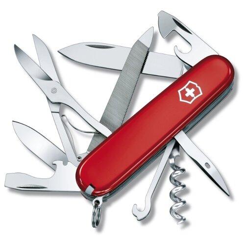 Нож многофункциональный VICTORINOX Mountaineer (18 функций) красный швейцарский нож victorinox hercules 0 9043 111 мм 18 функций красный