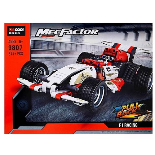 Купить Конструктор Jisi bricks (Decool) MecFactor 3807 Формула F1, Конструкторы