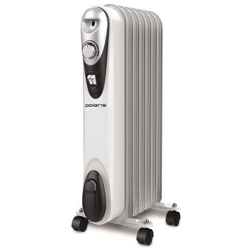 Масляный радиатор Polaris CR C 0715 COMPACT белый/черный