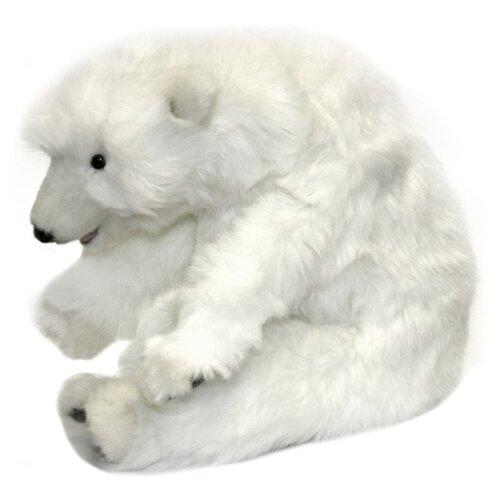 Мягкая игрушка Hansa Белый медвежонок спящий 30 см, Мягкие игрушки  - купить со скидкой