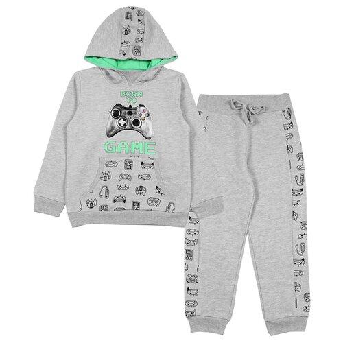 Комплект одежды cherubino размер (110)-60, серый меланжКомплекты и форма<br>