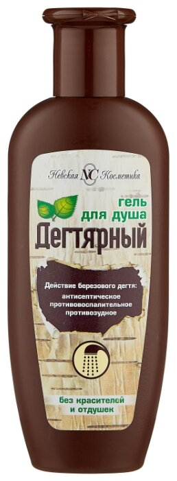 Невская Косметика Гель для душа Дегтярный 250мл 16103