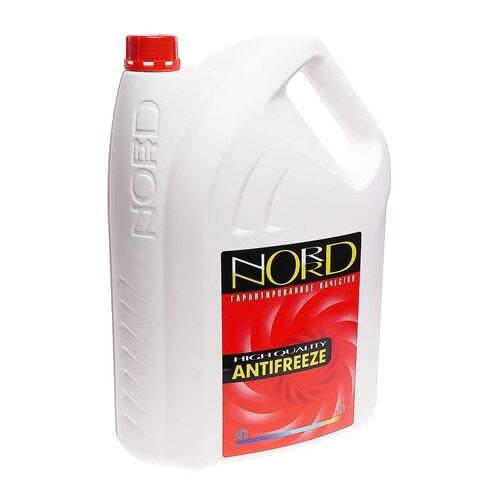 Антифриз NORD Красный 10 л антифриз aga тосол l40 10 кг