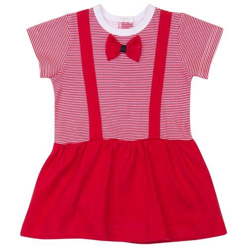 Платье-боди ALENA размер 68-74, красный