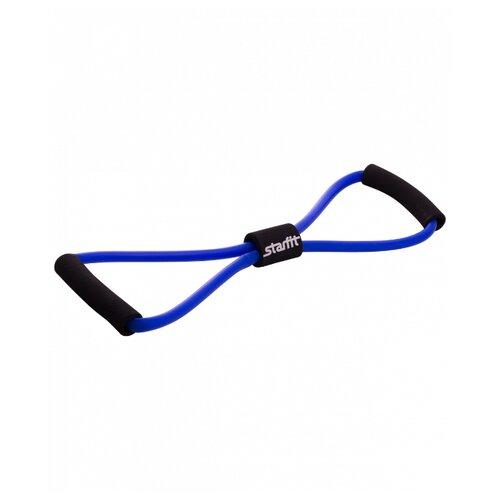 Эспандер универсальный Starfit ES-603 (8х12х1000 мм) 44 х 11.2 см синий эспандер лента starfit es 201 1200х150х0 45 мм 120 х 15 см синий