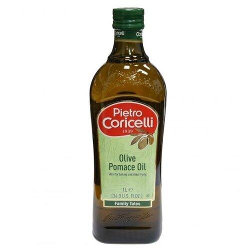 Pietro Coricelli Масло оливковое Pomace, стеклянная бутылка 1 л casa rinaldi масло оливковое pomace sansa стеклянная бутылка 1 л
