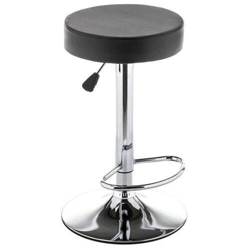 Стул Woodville Logo, металл/искусственная кожа, цвет: black стул woodville kosta металл искусственная кожа цвет white black