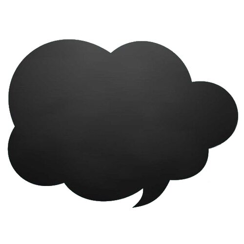 Доска меловая Doski4you СМСка (29х39 см) черный