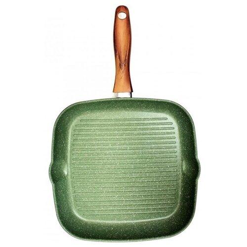 Сковорода-гриль Giannini Vegetalia 6570 28 см, зеленыйСковороды и сотейники<br>