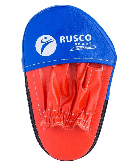 Rusco Sport Лапы боксерские Rusco Sport, красный, -, искусственная кожа