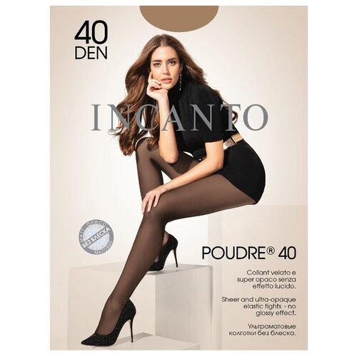 Колготки Incanto Poudre 40 den, размер 4, daino (бежевый) колготки incanto poudre 4 40 den черный