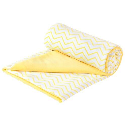 Купить Плед Сонный Гномик Дайкири 504 87х87 см желтый, Покрывала, подушки, одеяла