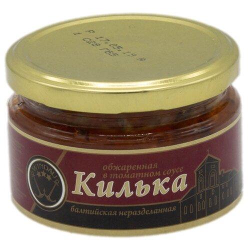 WINDAU Килька балтийская обжаренная в томатном соусе, 240 г